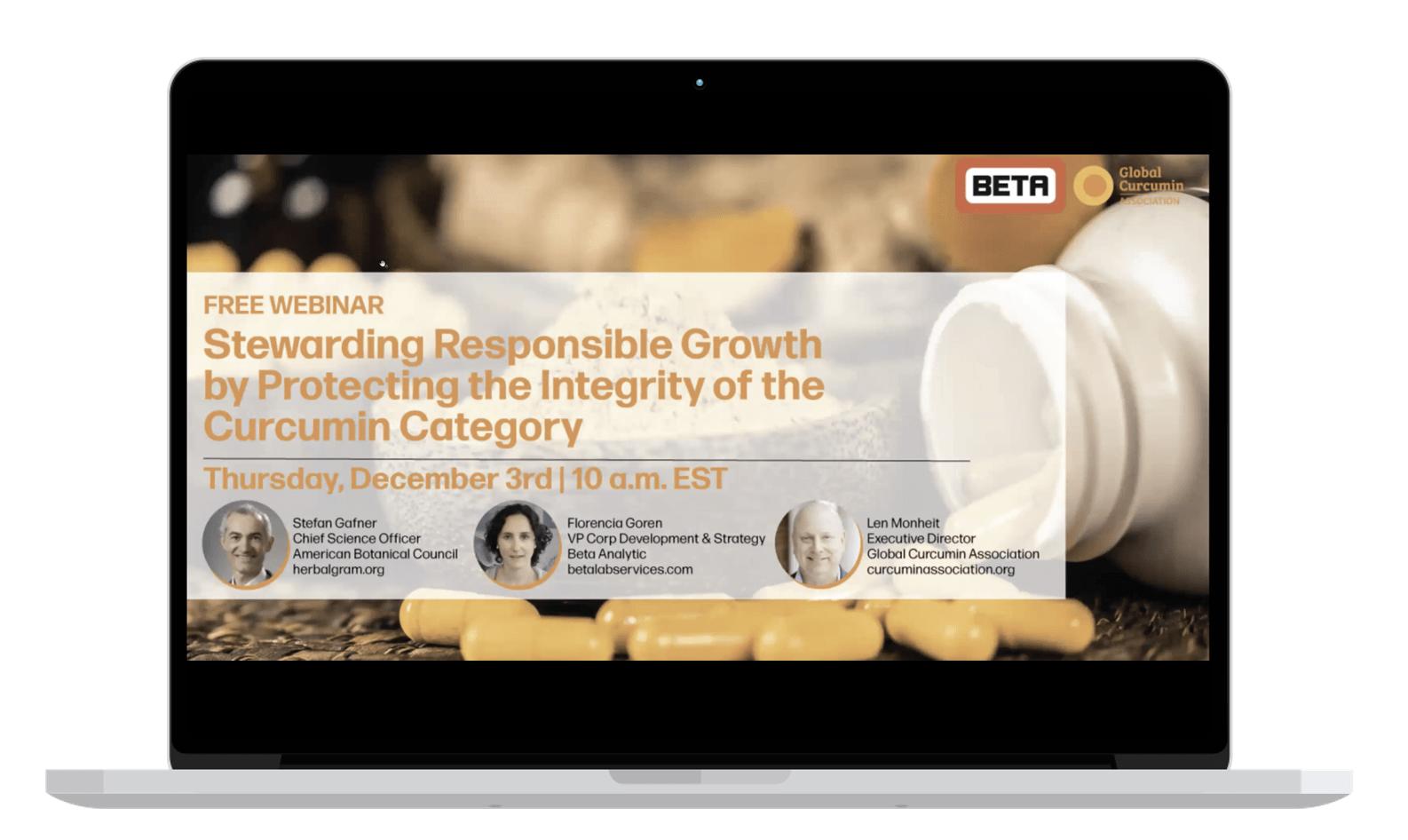 GCA Responsible growth webinar on demand
